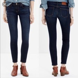 Madewell Skinny Skinny Ankle Jeans Size 25